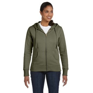 Women's Organic/ Recycled Jungle Full-zip Hoodie