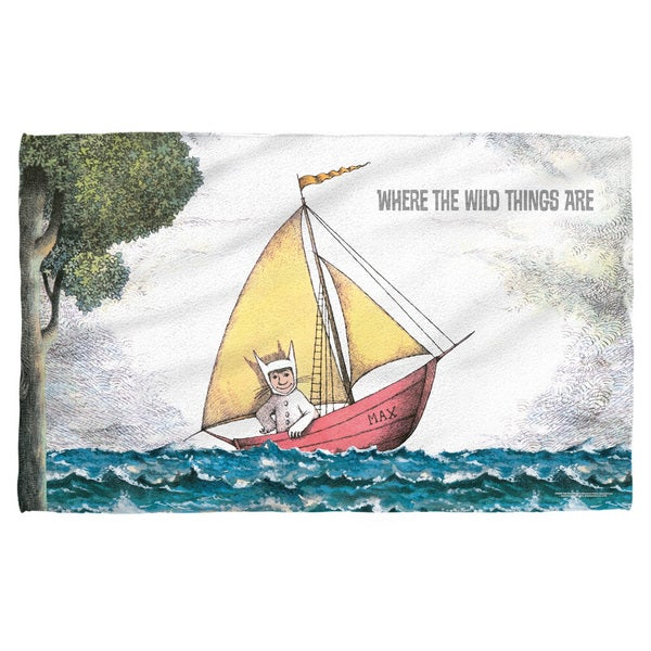 Where The Wild Things Are/Max'S Boat Polyester Beach Towel
