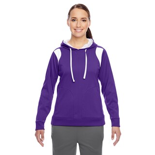 Elite Women's Performance Sport Purple/ White Hoodie