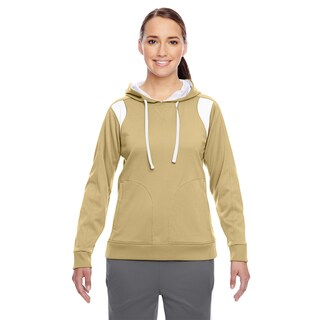 Elite Women's Performance Sport Vegas Gold/ White Hoodie