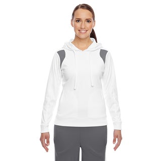 Elite Women's Performance White/ Sport Graphite Hoodie