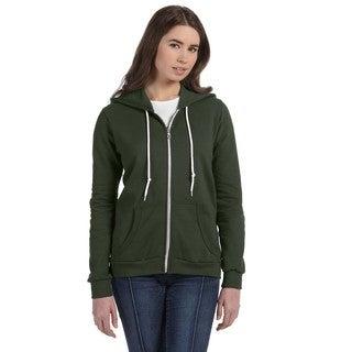 Full-zip Women's City Green Hooded Fleece
