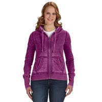 Zen Full-zip Women's Fleece Very Berry Hoodie