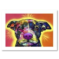 Dean Russo 'Love A Bull' Paper Art