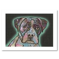 Dean Russo 'Love Thy Boxer' Paper Art