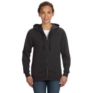 Full-zip Women's Smoke Hoodie|https://ak1.ostkcdn.com/images/products/12264975/P19105042.jpg?impolicy=medium