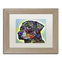 Dean Russo 'The Rottweiler' Matted Framed Art