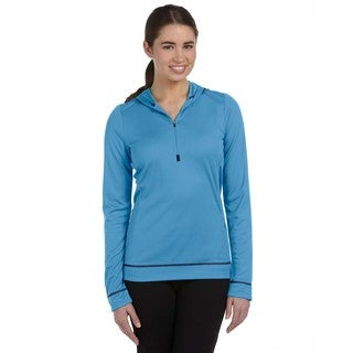 Half-zip Women's Long-sleeve Pacfc/ Sport Dark Navy Hoodie