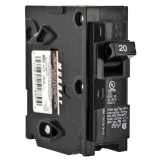 Siemens MP120 20 Amp Single Pole Circuit Breaker
