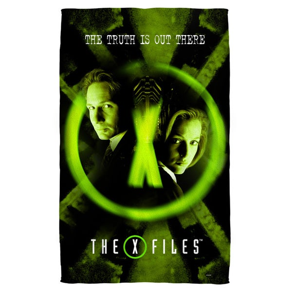 X Files/Trust No One Beach Towel