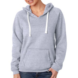 Sydney Women's Brushed V-neck Oxford Hoodie
