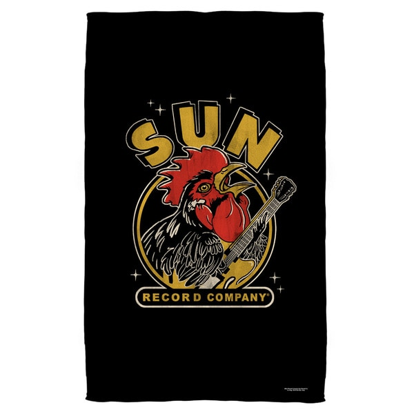 Sun/Rocking Rooster Beach Towel