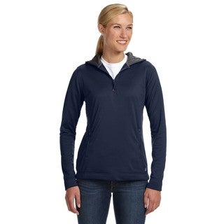 Tech Fleece Quarter-zip Women's Hoodie Navy Pullover