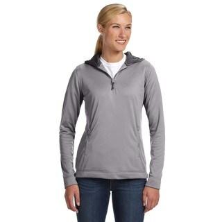 Tech Fleece Quarter-zip Women's Hoodie Steel Pullover