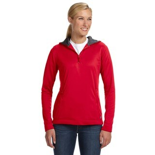 Tech Fleece Quarter-zip Women's Hoodie True Red Pullover