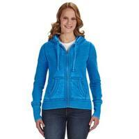Zen Full-zip Women's Fleece Oceanberry Hoodie