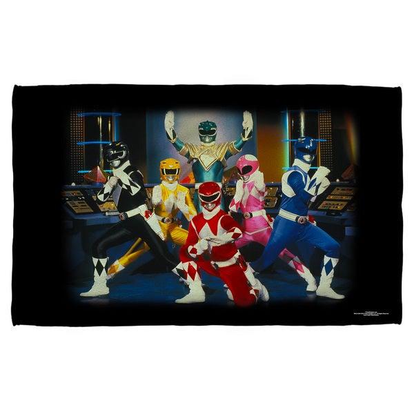 Power Rangers/Stance Beach Towel