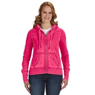 Zen Full-zip Women's Fleece Wildberry Hoodie