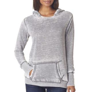 Zen Women's Fleece Hoodie Cement Pullover|https://ak1.ostkcdn.com/images/products/12265229/P19105368.jpg?impolicy=medium