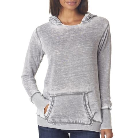 Zen Women's Fleece Hoodie Cement Pullover