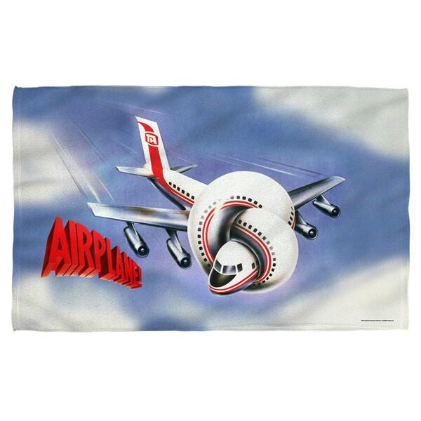 Airplane/Postet Polyester Beach Towel