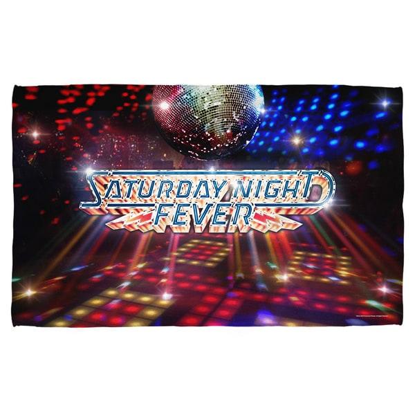 Saturday Night Fever/Dance Floor Polyester Beach Towel