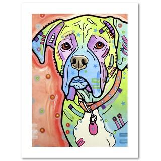Dean Russo 'The Boxer' Paper Art