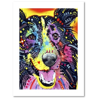 Dean Russo 'Sheltie' Paper Art