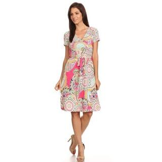 Women's Floral Medallion Dress