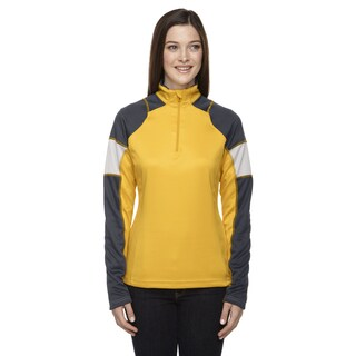 Quick Performance Women's Interlock Half-zip Top Campus Gold 444 Jacket (More options available)