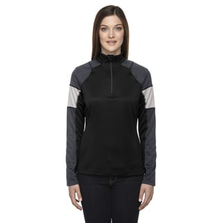 Quick Performance Women's Interlock Half-zip Top Black 703 Jacket