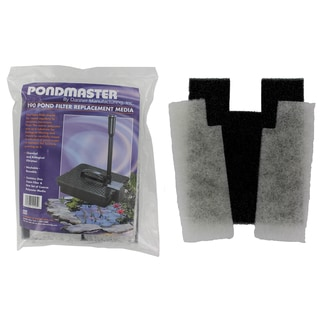 Pondmaster 12195 Coarse Foam Pad Replacement Filter 2-count
