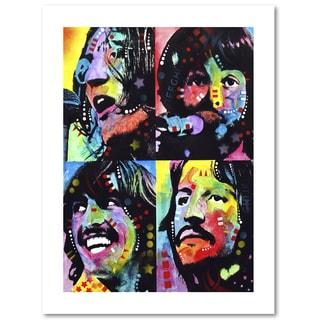 Dean Russo 'Beatles' Paper Art