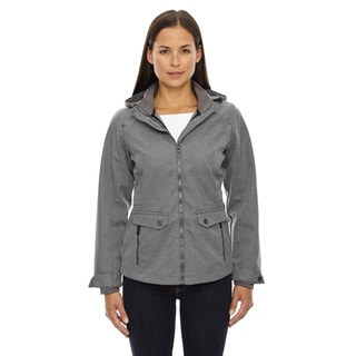 Uptown Three-layer Light Bonded Women's City Textured Soft Shell City Grey 458 Jacket