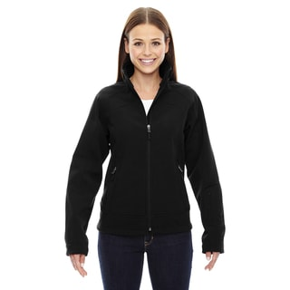 Three-layer Light Bonded Women's Soft Shell Black 703 Jacket