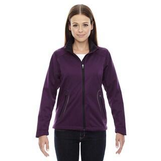 Splice Three-layer Light Bonded Women's Soft Shell with Laser Welding Mulbry Purple 449 Jacket