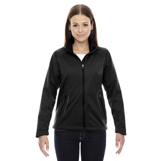 Splice Three-layer Light Bonded Women's Soft Shell with Laser Welding Black 703 Jacket