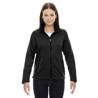 Splice Three-layer Light Bonded Women's Soft Shell with Laser Welding Black 703 Jacket