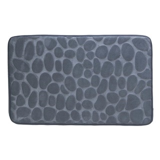 Patterned Stone Floor Mat