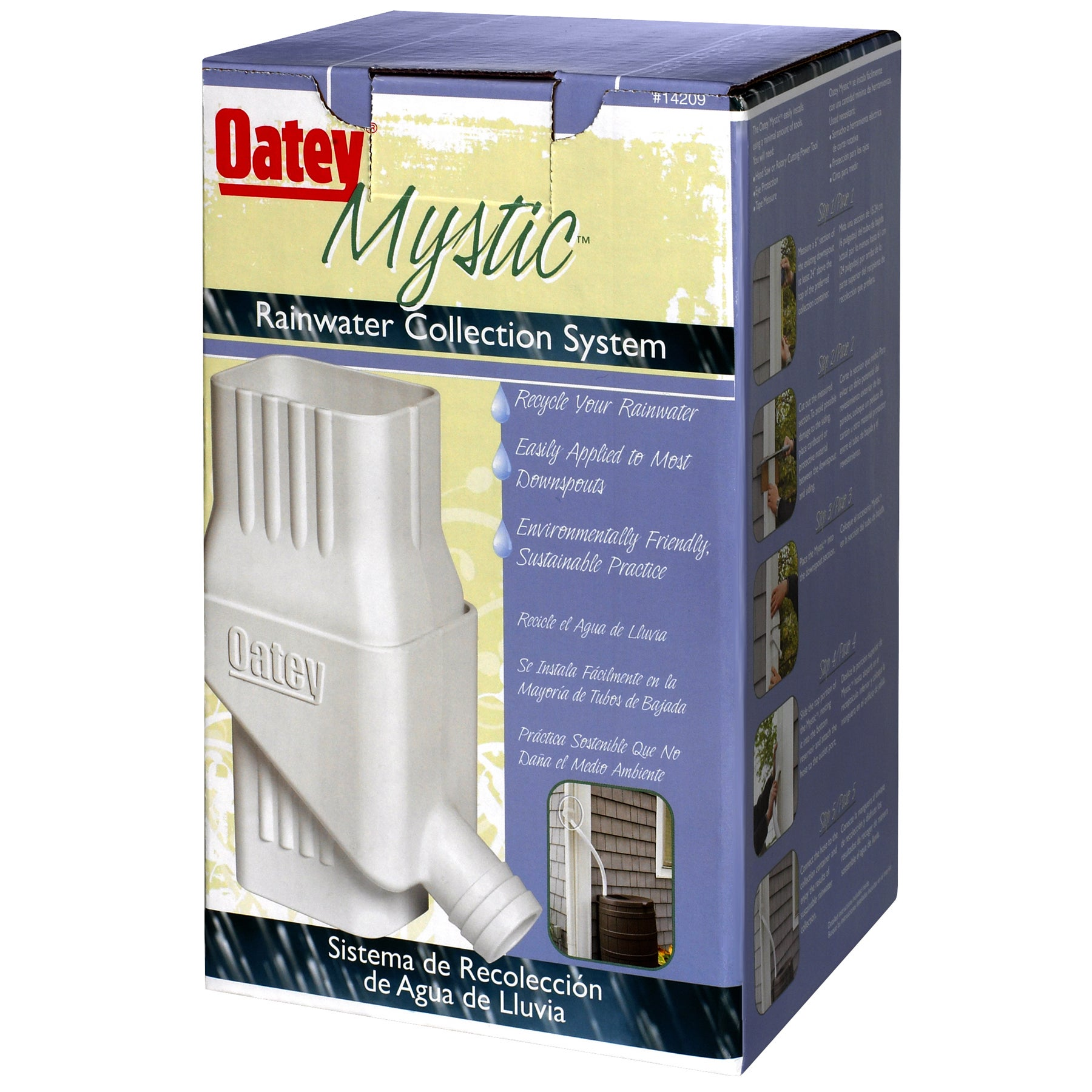 Oatey 14209 Mystic Rainwater Collection System (Watering ...