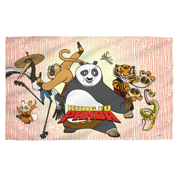 Kung Fu Panda/Kung Fu Group Polyester Beach Towel