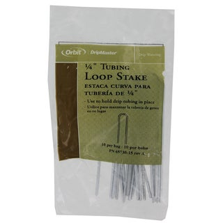 Orbit 65730 1/4-inch Loop Stake Pack 10-count
