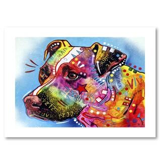 Dean Russo 'Pit Bull 1059' Paper Art
