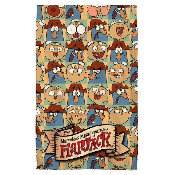 Flapjack/And Captain Beach Towel