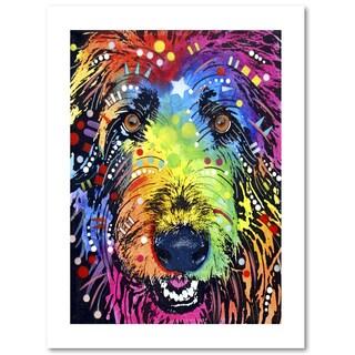 Dean Russo 'Irish Wolfhound' Paper Art