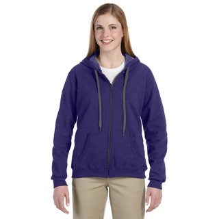 Heavy Blend Women's Vintage Classic Lilac Full-zip Hoodie