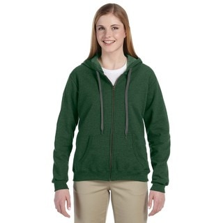 Heavy Blend Women's Vintage Classic Meadow Full-zip Hoodie