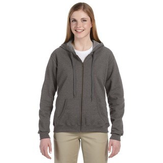 Heavy Blend Women's Vintage Classic Tweed Full-zip Hoodie (2 options available)