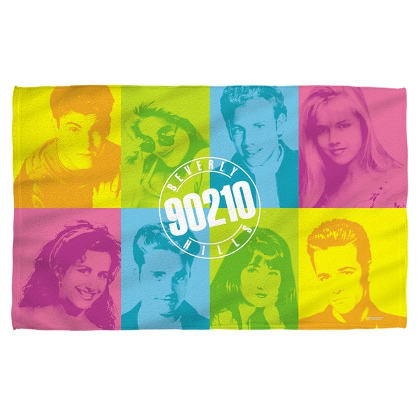 Beverly Hills 90210/Color Blocks Polyester Beach Towel