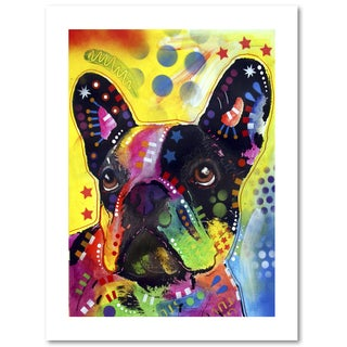 Dean Russo 'French Bulldog 2' Paper Art